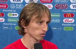Luka Modric discusses Croatia win vs. England: 'We dominated the game completely' | 2018 FIFA World Cup™