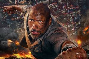 Dwayne Johnson's 'Improbable' Crane Jump in 'Skyscraper': 'We Did the Math' Says Director