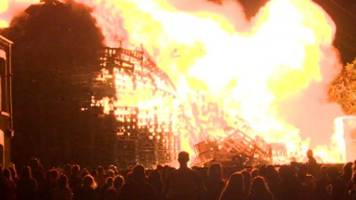 Eleventh Night bonfires: culture and controversy