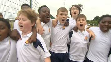 England World Cup defender Ashley Young 'inspiring' his old school
