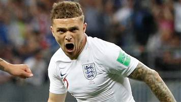 World Cup 2018: Kieran Trippier gives England an early lead against Croatia with a stunning free-kick