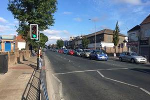 traffic chaos as hundreds head to watch england match