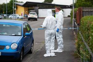 dad allegedly stabbed in dennistoun flat named locally as brian boyle after four arrested
