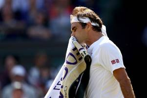 Roger Federer crashes out of Wimbledon after marathon five-set quarter final against Kevin Anderson