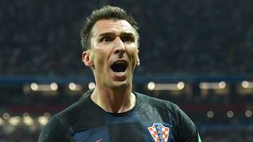 World Cup 2018: Mario Mandzukic nets extra-time winner for Croatia against England