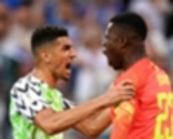 brighton's leon balogun relives world cup experience with nigeria