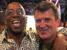 Ian Wright and Roy Keane make up following fiery exchange