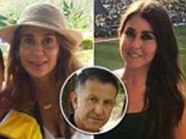mexico soccer coach slammed for taking wife and mistress to world cup