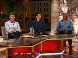 Roy Keane blasts Ian Wright in bizarre on-air row during ITV's 'cursed' semi-final coverage