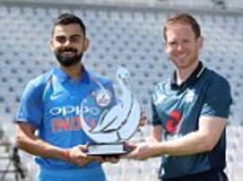 england vs india, live cricket scorecard: latest updates from trent bridge in first one-day clash