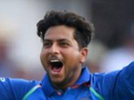 kuldeep yadav runs riot as india cruise to eight-wicket victory over england in first odi