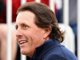 Phil Mickelson regrets US Open antics after opening 70 leaves him seven adrift at the Scottish Open