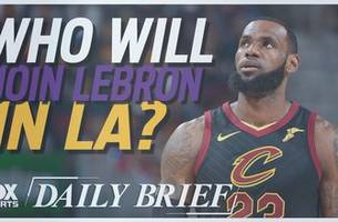 who will join lebron in la?