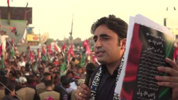 Pakistan election: Bhutto outlines 'peaceful, progressive' vision
