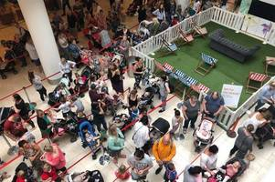 bedlam at build-a-bear workshop in intu derby