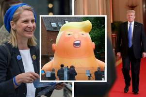 Donald Trump protest gets Bath MP's backing as she slams visiting US President as 'deeply sexist'