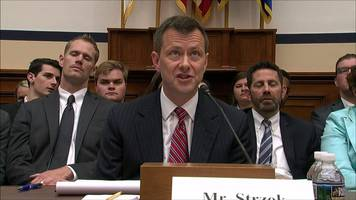 fbi's peter strzok: anti-trump bias claims 'deeply destructive'