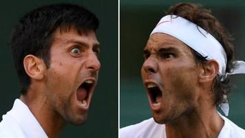 Rafael Nadal and Novak Djokovic will renew rivalry in Wimbledon semi-finals