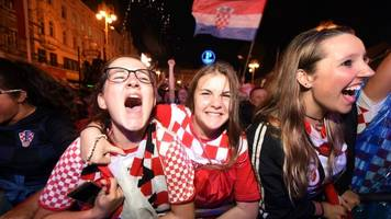 World Cup 2018: Croatia fans ecstatic after ousting England