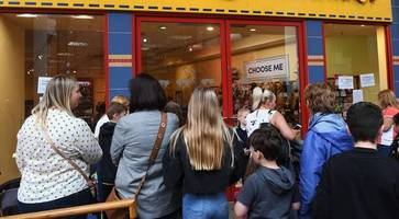 belfast shoppers offered £12 build-a-bear voucher after promotion chaos