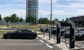 Porsche Opens First Fast Charging Location in Germany