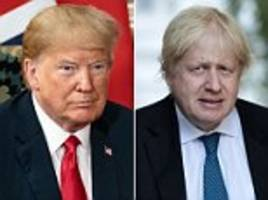 clock runs out and trump won't meet with boris johnson in london