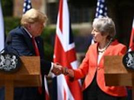 Trump tells May her soft Brexit plan will 'kill'  US trade deal