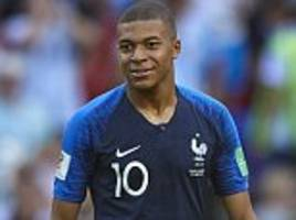 kylian mbappe set to follow pele by becoming third teenager ever to play in world cup final