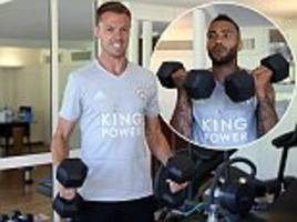 leicester conclude france pre-season training camp by being put to the test in the gym