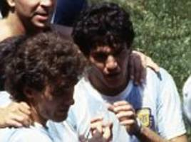 the inside story of how maradona inspired argentina at the 1986 world cup told by his room-mate