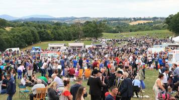 scarva: thousands attend annual 'sham fight'