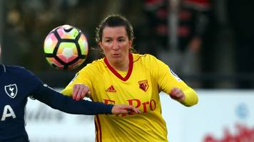 helen ward: wales striker 'delighted' with new watford deal and captaincy