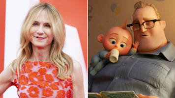 the incredibles 2: holly hunter on the 'rush' of seeing a female hero