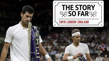 wimbledon 2018: djokovic v nadal - the incredible story so far...