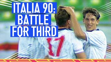 world cup 2018: when england played off for third place at the italia '90 world cup