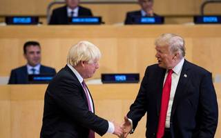 trump: boris would make a 'great' prime minister