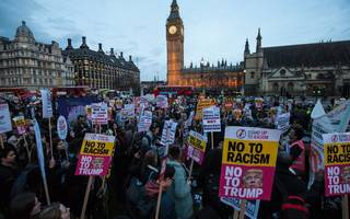 what you need to know about the anti-trump demonstrations in london today