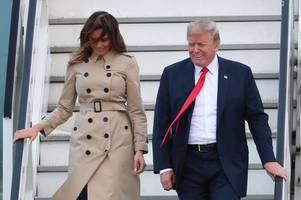 'Fake' Melania Trump's appearance sparks fresh concerns First Lady is actually a body double