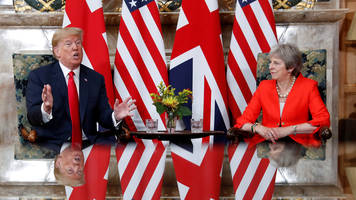 Donald Trump: Theresa May and I have 'very strong' relationship