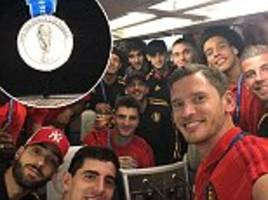 Belgium fly out of Saint Petersburg after World Cup win over England