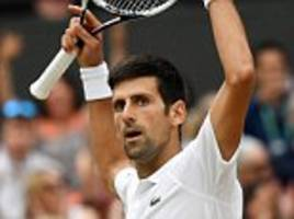 djokovic to face anderson in wimbledon final after rafael nadal