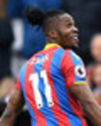 everton transfer news: crystal palace laugh at wilfried zaha price - 'we're not stupid!'