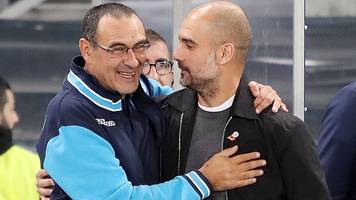 a visionary former banker loved by guardiola - who is new chelsea boss sarri?