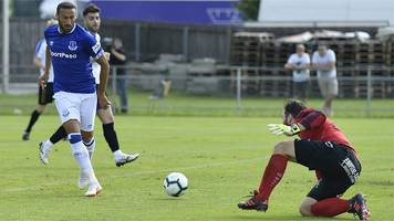 Premier League: Watch all the goals as Everton win 22-0 against Austrian side ATV Irdning