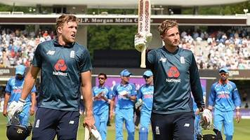 england v india: watch highlights as joe root and david willey propel england to victory