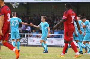 sbarra on target and new signing shines but burton albion lose to mickleover sports