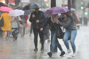 Met Office forecasts week of rain, thunderstorms and a drop of 10C for Bristol as heatwave comes to an abrupt end