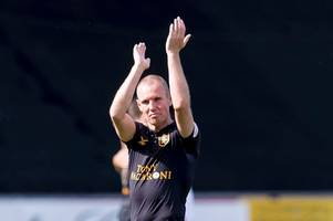 kenny miller admits it's 'strange' being called gaffer on the pitch after first win as livingston player-boss
