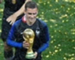 Griezmann hoping to 'sleep with the cup' after France's World Cup triumph