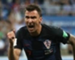 mandzukic and perisic fit to start for croatia as mbappe makes more history